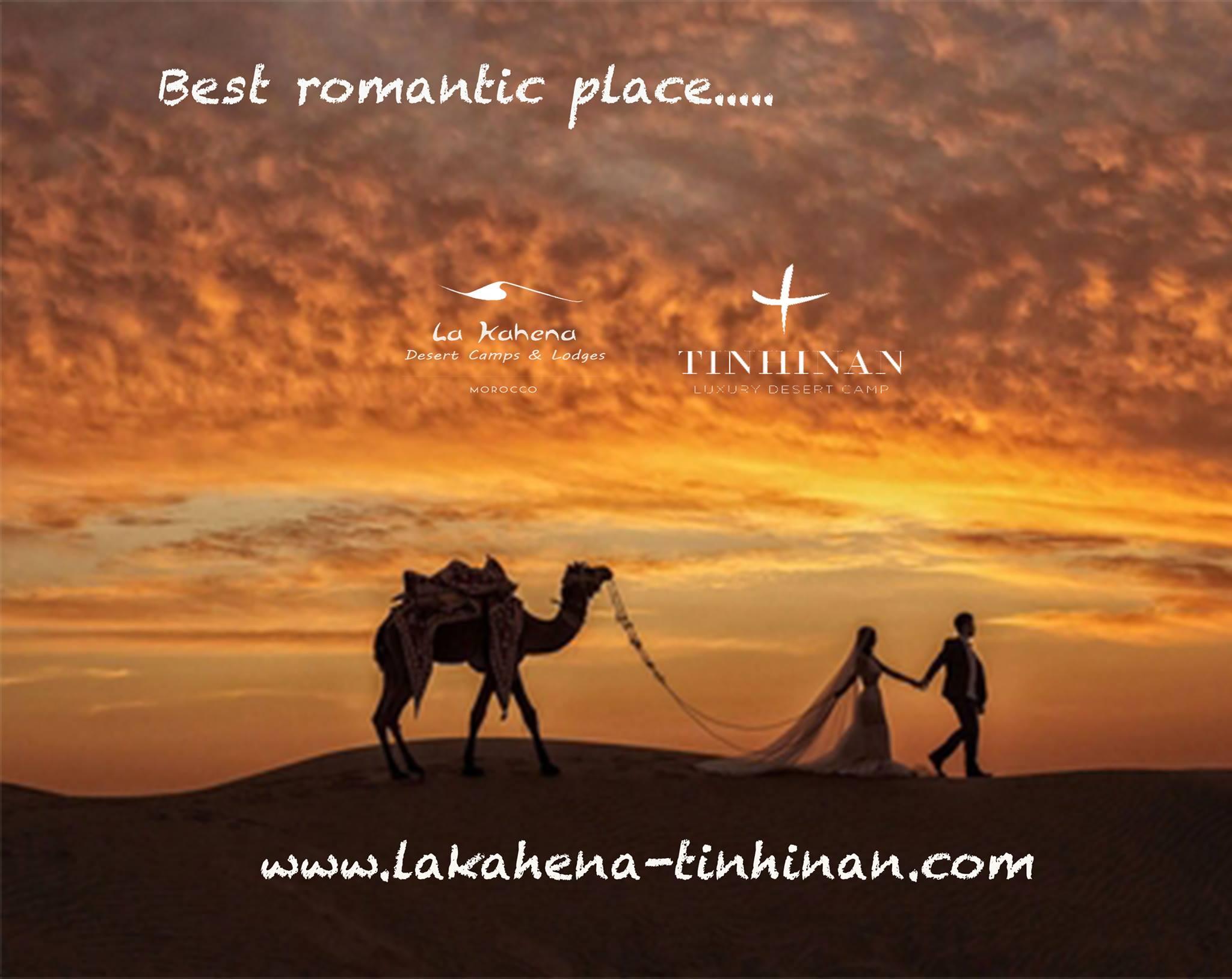 Mariage en plein Sahara